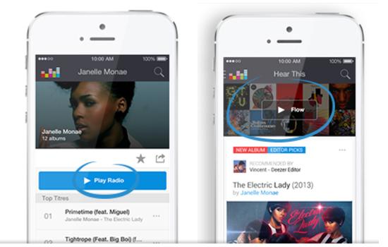 Deezer maakt luisteren naar mobiele muziek deels gratis