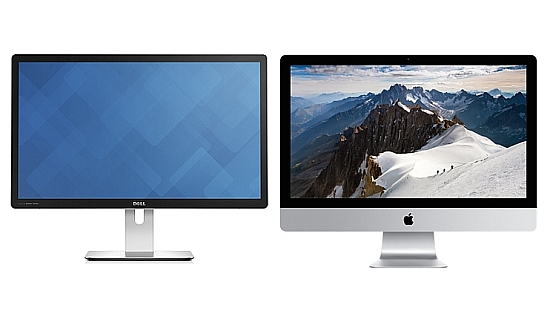Dell 5K monitor vs iMac 5K