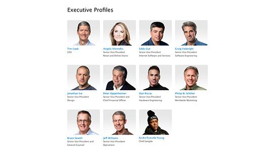 Dr. Dre staat al op de personeelspagina van Apple