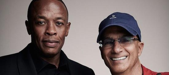 Dr.Dre en Jimmy Iovine