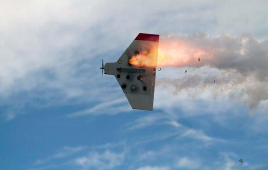 Drones vol explosieven neerschieten in Arizona