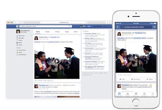 Facebookberichten en statusupdates doorzoeken, het kan!