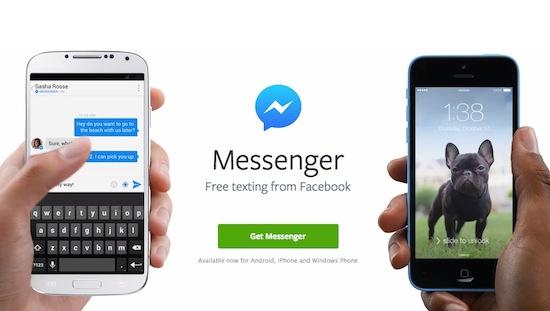 Facebook dwingt gebruikers over te stappen op Messenger