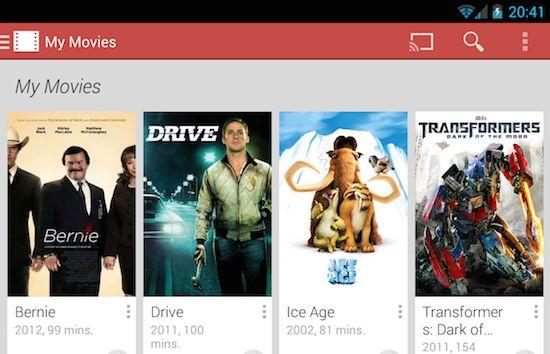 Films kopen & huren kan nu ook met Google Play