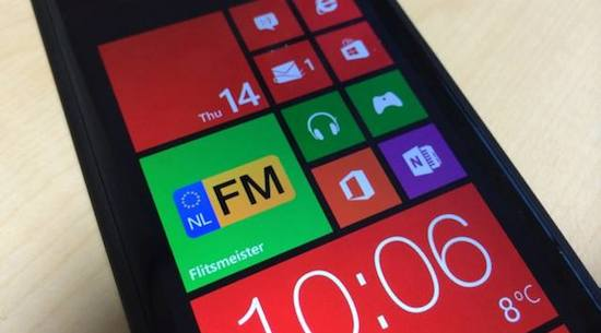 Flitsmeister voor Windows Phone