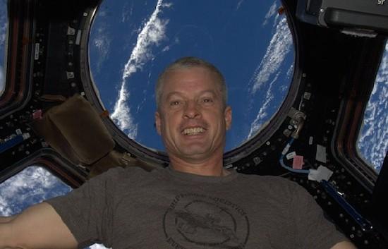 Dit is de eerste Instagram-foto vanuit de ruimte
