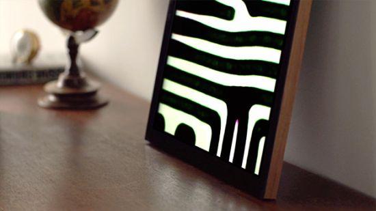 Met FRAMED wordt een monitor kunst