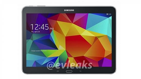 Samsung Galaxy Tab 4 lekt uit
