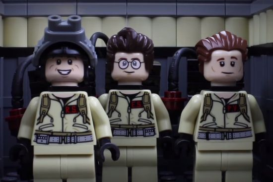 Ghostbusters als stop-motion LEGO