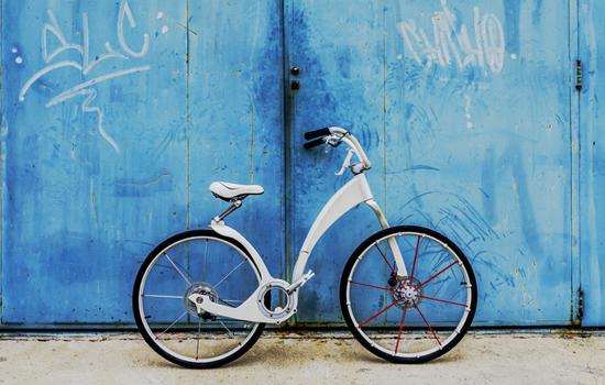 De Gi-Bike is een elektrische vouwfiets voor de toekomst