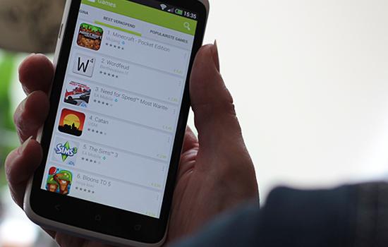 98% van de omzet in Google Play komt uit gratis spellen