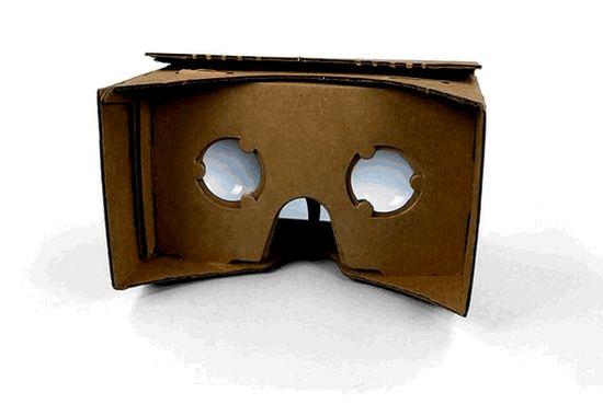 Met Cardboard maak je van karton je eigen VR headset