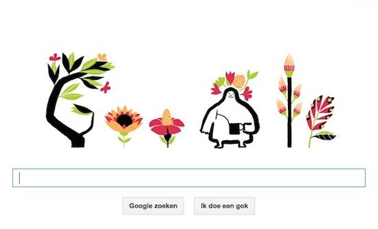 Lente wordt vandaag uitgelicht in Google Doodle