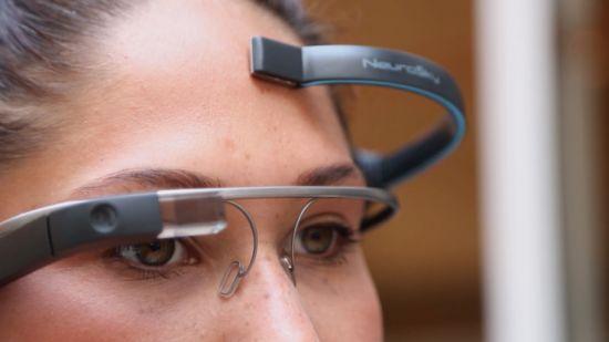 Met MindRDR bedien je Google Glass met je gedachten