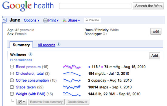 Google Health, het gezondheidsplatform uit 2008