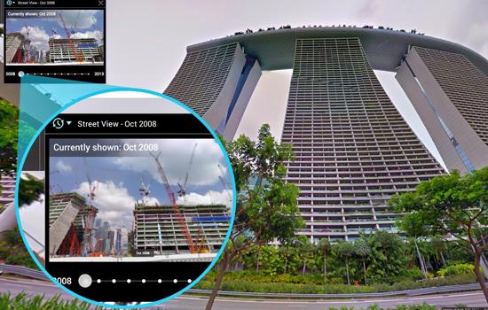 Met Google Streetview kan je nu ook terug in de tijd