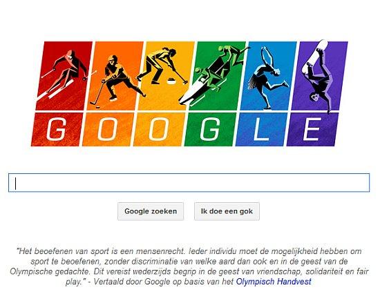 Google Olympische Spelen logo