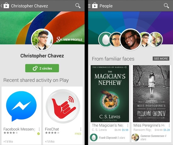 Check wat je vrienden aanraden in Google's Play Store