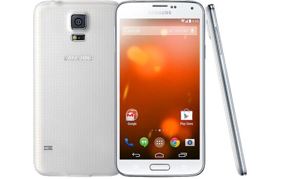 'Galaxy S5 komt er ook als Google Play Edition