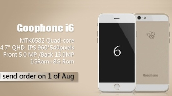 iPhone 6, maar dan anders