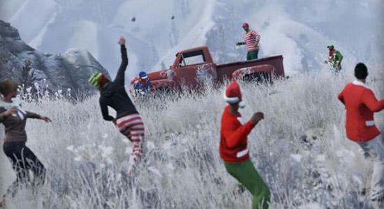 GTA V krijgt een flinke kerst-update