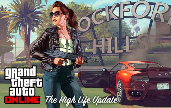 De High Life update voor GTA V vanaf nu beschikbaar
