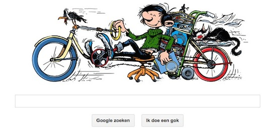 Guust Flater Google Doodle