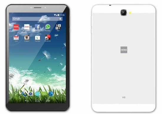 HEMA H8 tablet