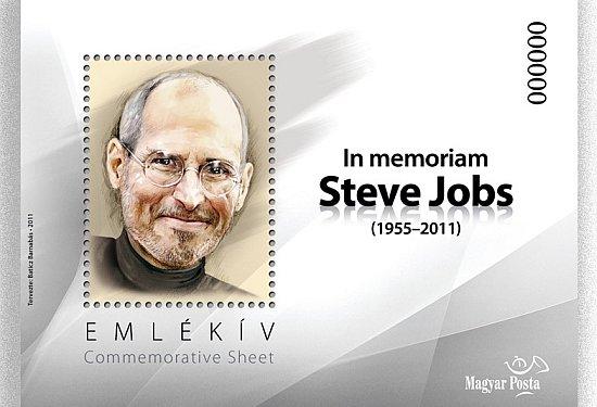 Hongaarse Steve Jobs postzegel