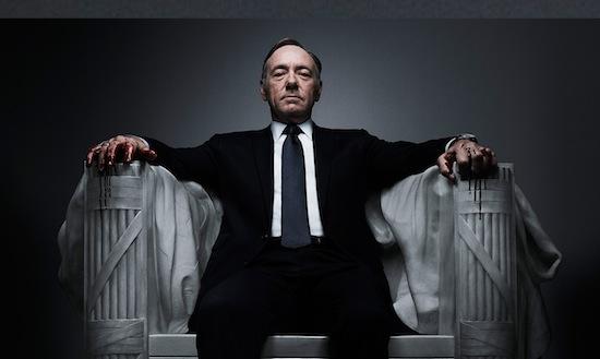 Netflix-serie House of Cards wint Golden Globe