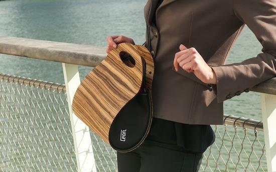 Leon houten handtas