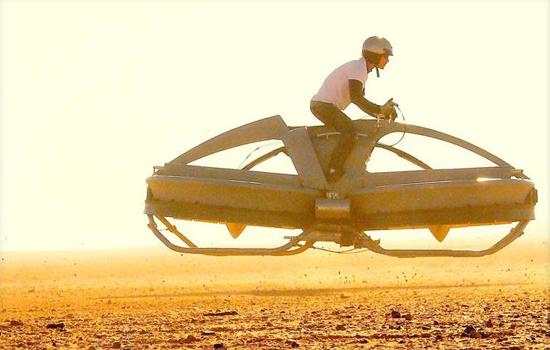 Star Wars Landspeeder komt steeds dichterbij met de Aero-X