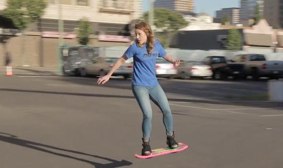 De hoverboard is eindelijk realiteit geworden!