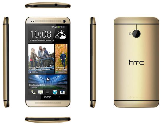 Gouden HTC One komt shinen in Nederland