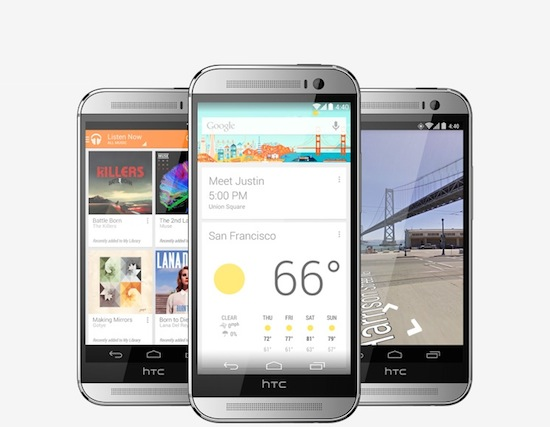 HTC One M8 is er ook als Google Play-editie