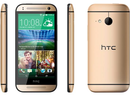 HTC One mini 2 komt in juni voor 450 euro