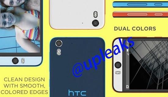 HTC bouwt telefoon met 13 megapixel camera aan de voorkant