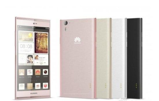 Huawei's Ascend P7 lekt op je beeldscherm