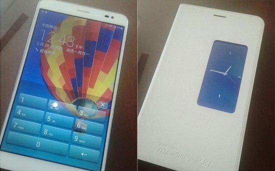 Huawei MediaPad X1 doet mee met lekken