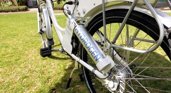 Hy-cyle: fietsen op waterstof