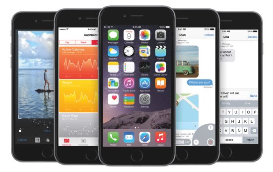 iOS8-Adoptie