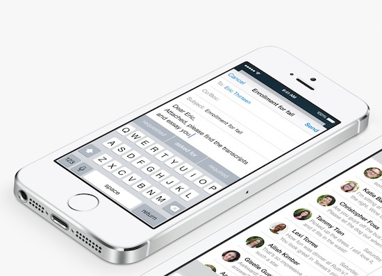 iOS8 mail