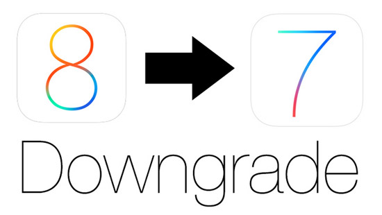 iOS 8 downgraden