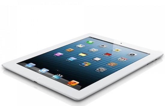 Apple herintroduceert de iPad 4