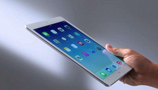 Nieuwe iPad vertraagd door iPhone 6 Plus