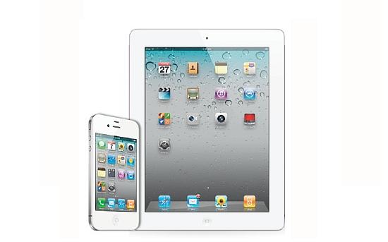 iPhone 4S en iPad 2