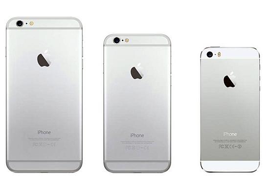 iPhone 6 Plus - iPhone 6 - iPhone 5s