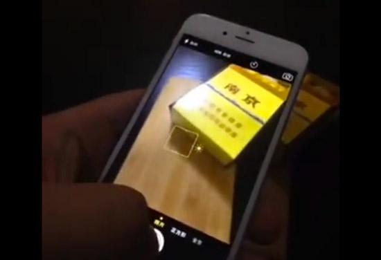 Foto's maken met de iPhone 6