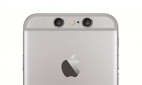 iPhone dual back camera