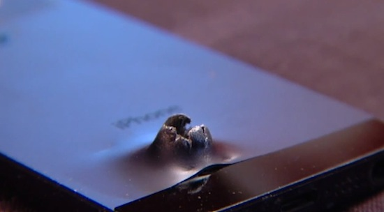 Deze iPhone beschermde een soldaat bij een bomaanslag